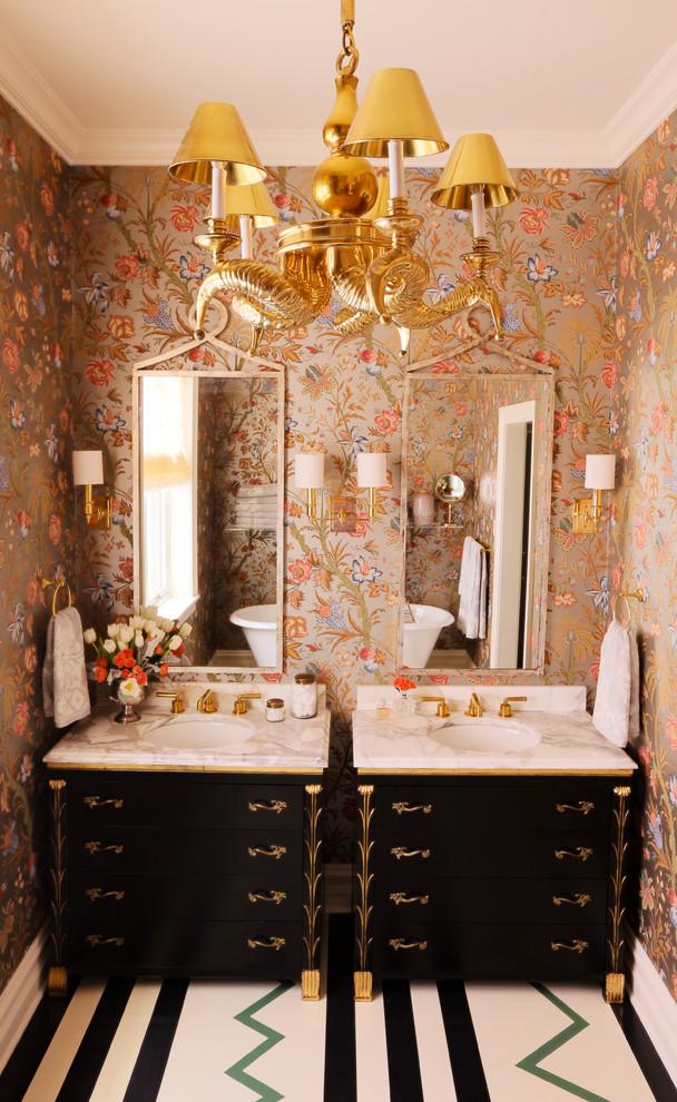 Amazing Eclectic Bathroom Design