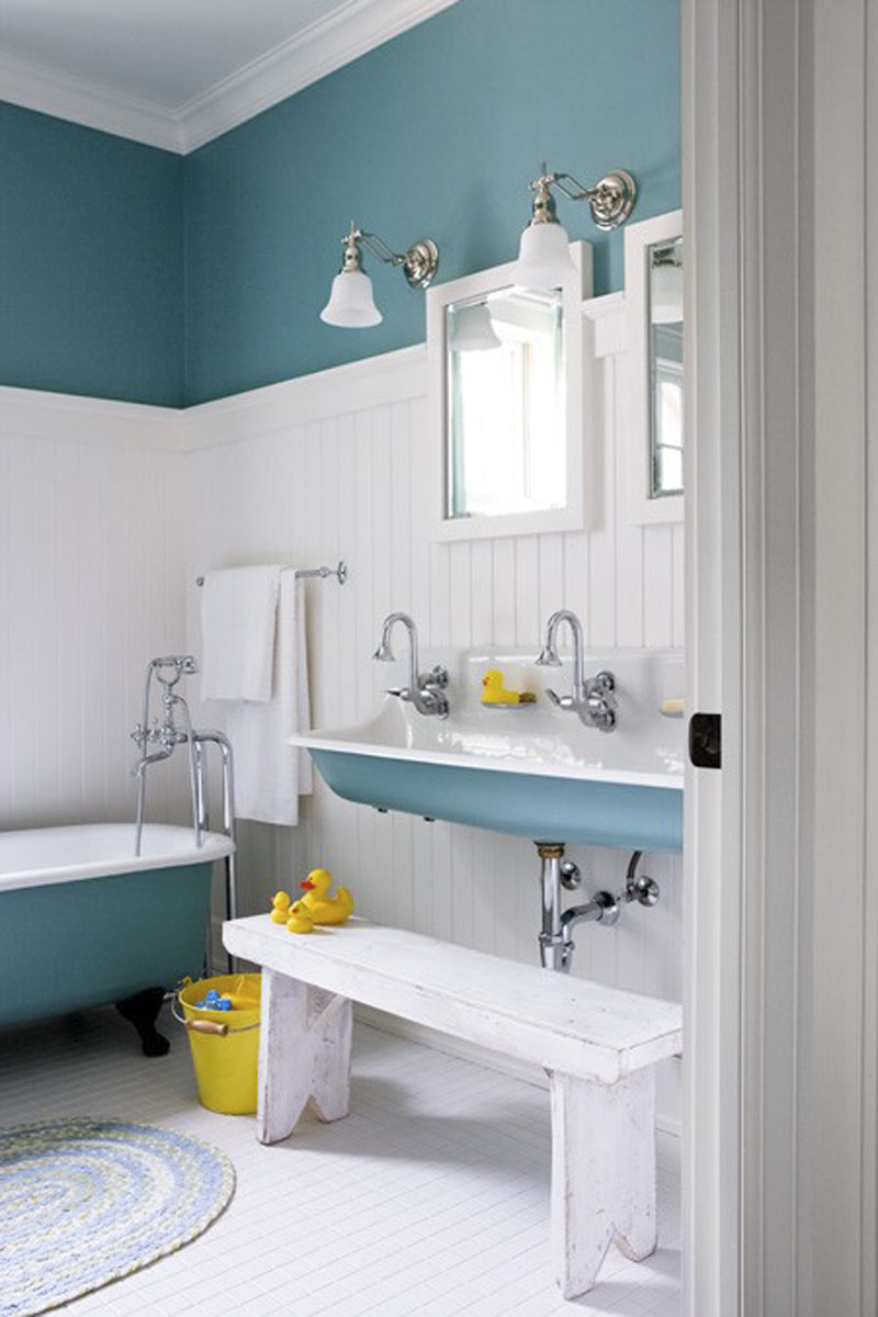 Beach Themed Bathroom Color Ideas