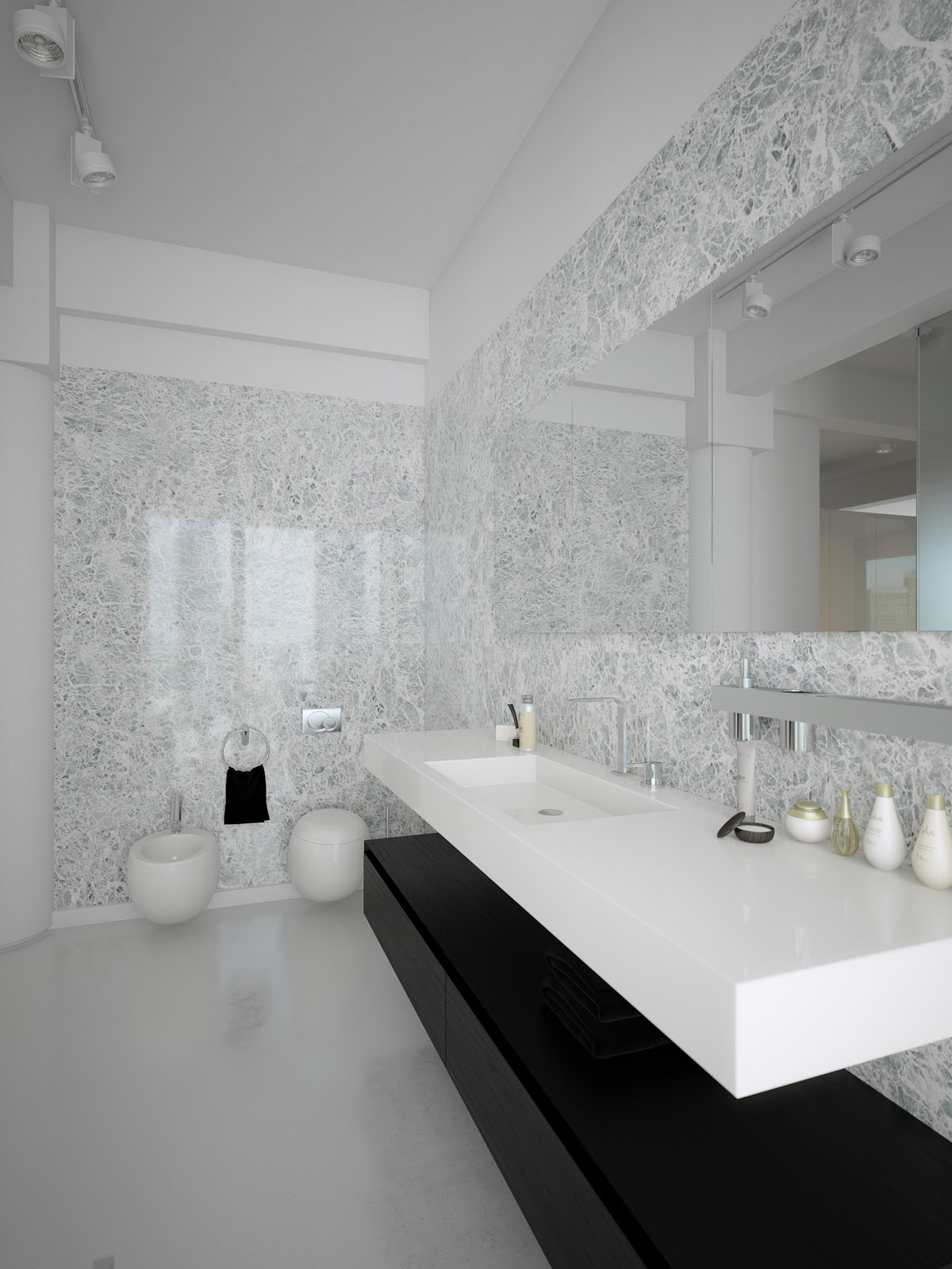 25 contemporary bathroom design ideas decoration love - White bathroom ideas photo gallery ...