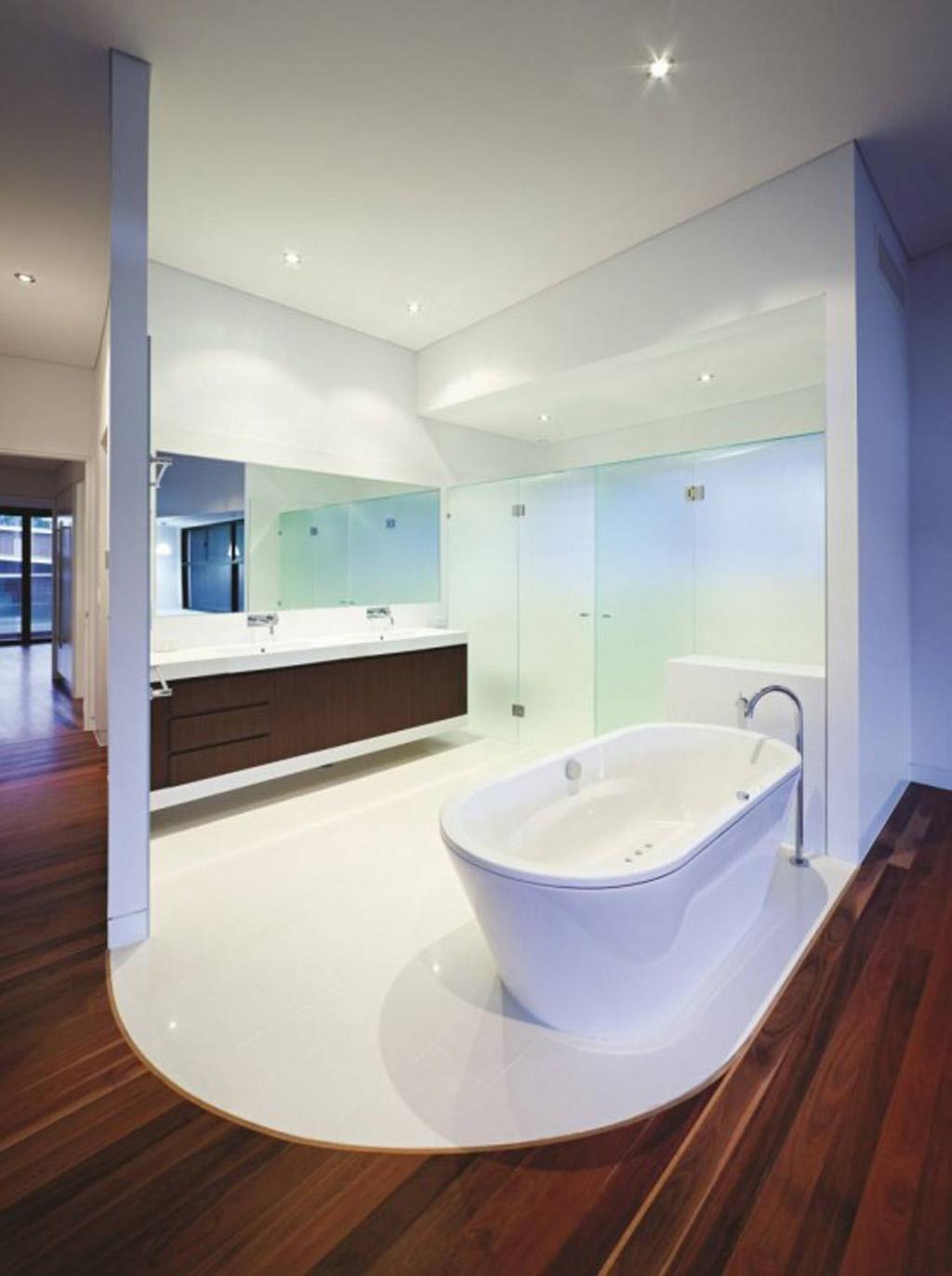 Contemporary Bathroom Shower Design