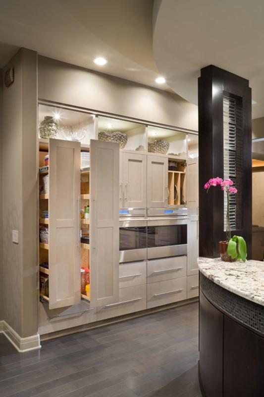 Contemporary Modern Kitchen Pantry Designs