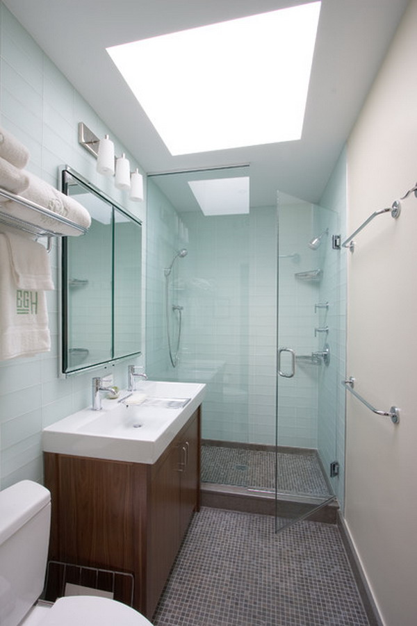 Contemporary Small Bathroom Designs