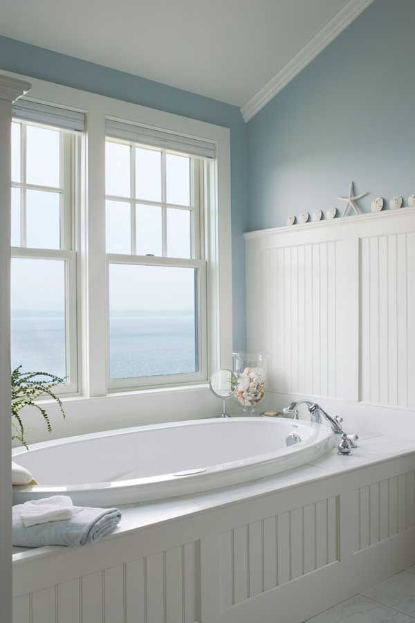 Cool Beach Style Bathroom Design