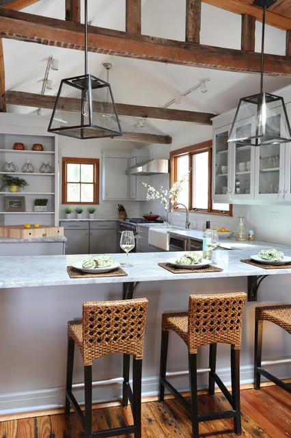 Cool Beach Style Kitchen Design