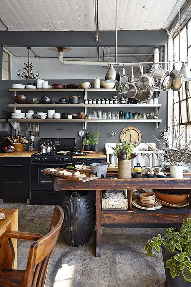 Cool Industrial Kitchen Design
