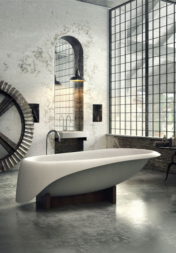 Industrial Bathroom Ideas 2016