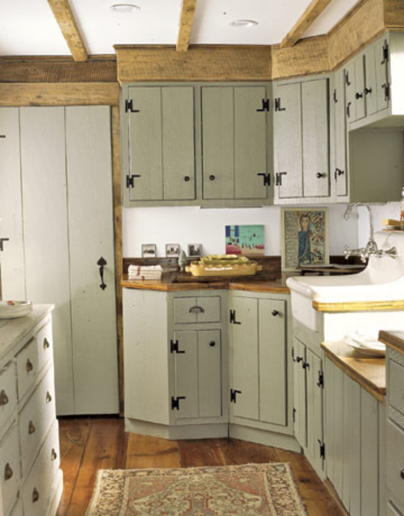 25 farmhouse kitchen design ideas decoration love - Country style kitchen cabinets design ...