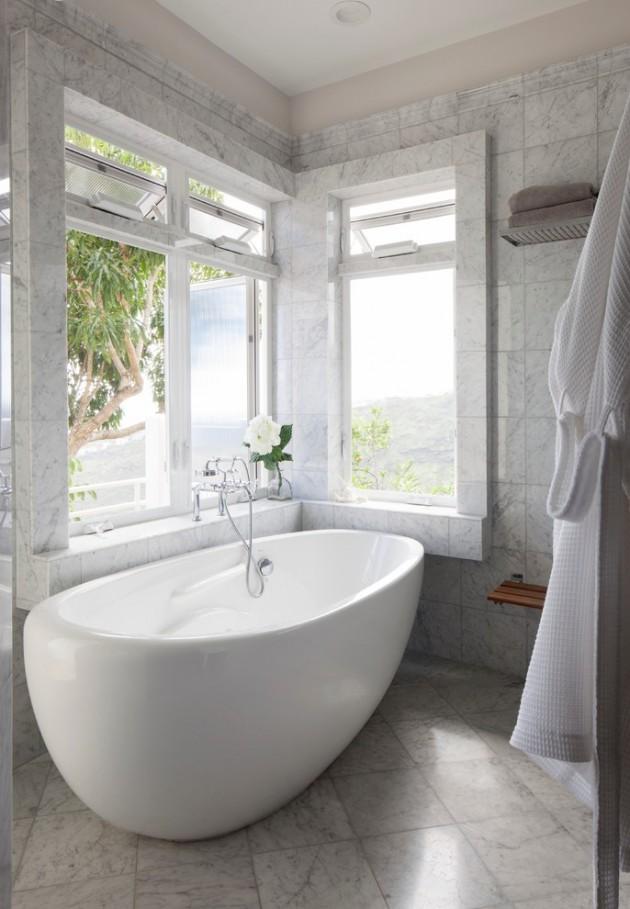 Relaxing Tropical Bathroom Designs