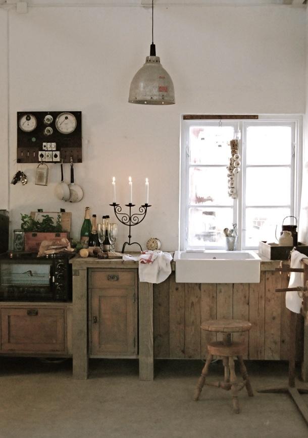 Rustic Shabby Chic Kitchen