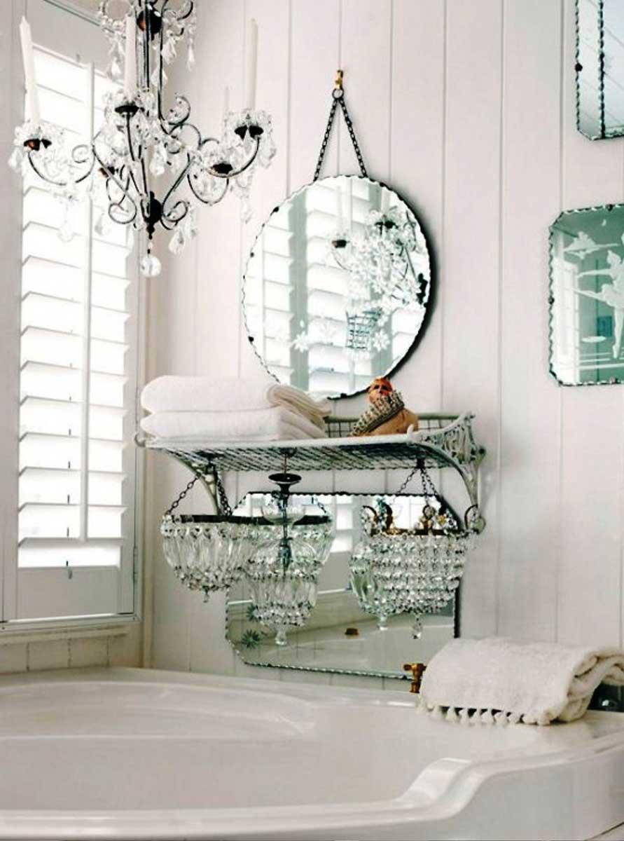 Shabby Chic Bathroom Decor Ideas