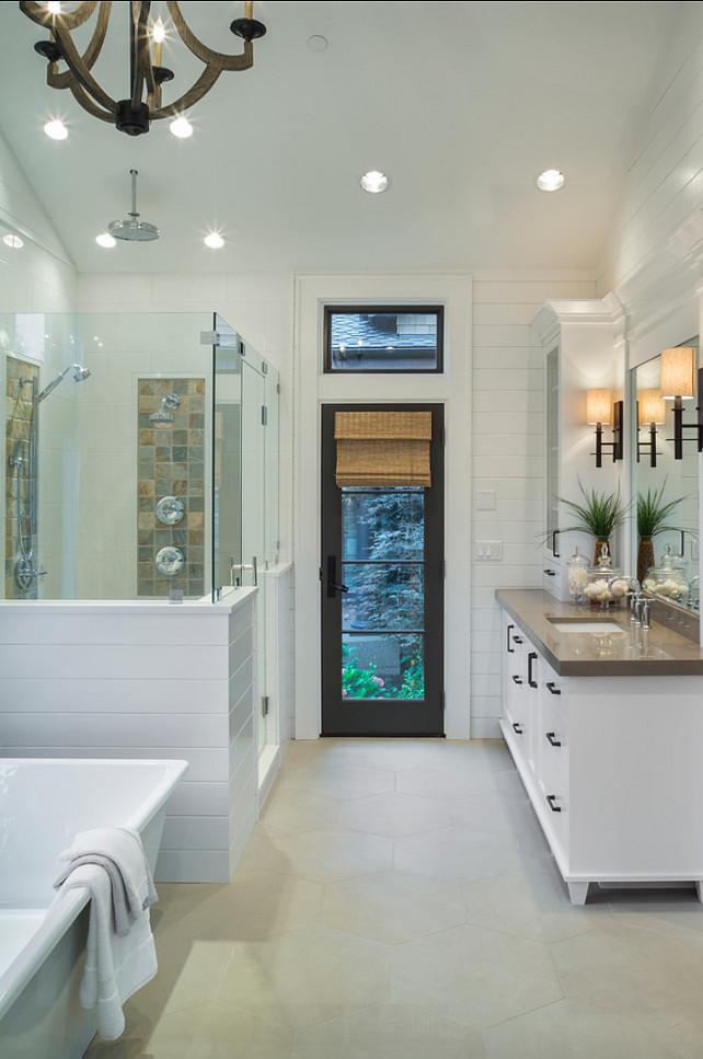 Stylish Transitional Bathroom Design