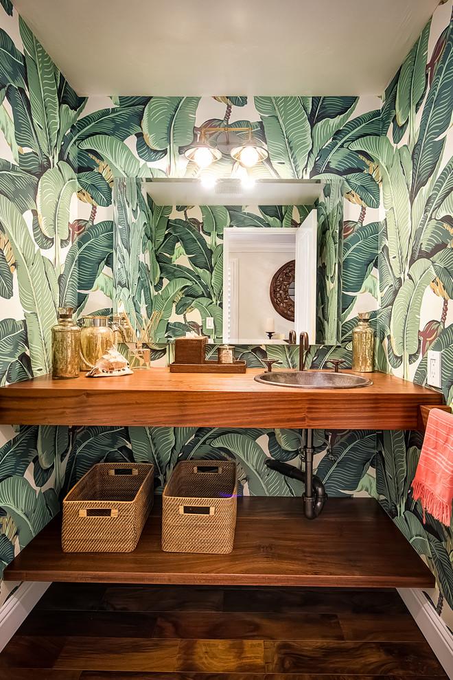 Summer Tropical Bathroom Design