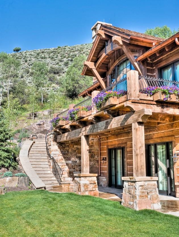 Amazing House Rustic Exterior Design