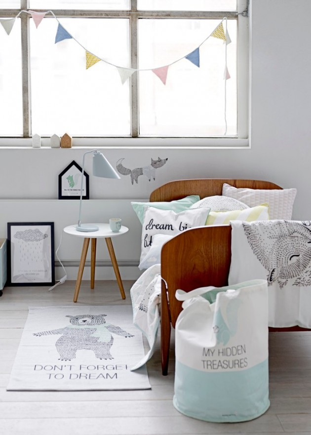 Amazing Scandinavian Kids Room Design