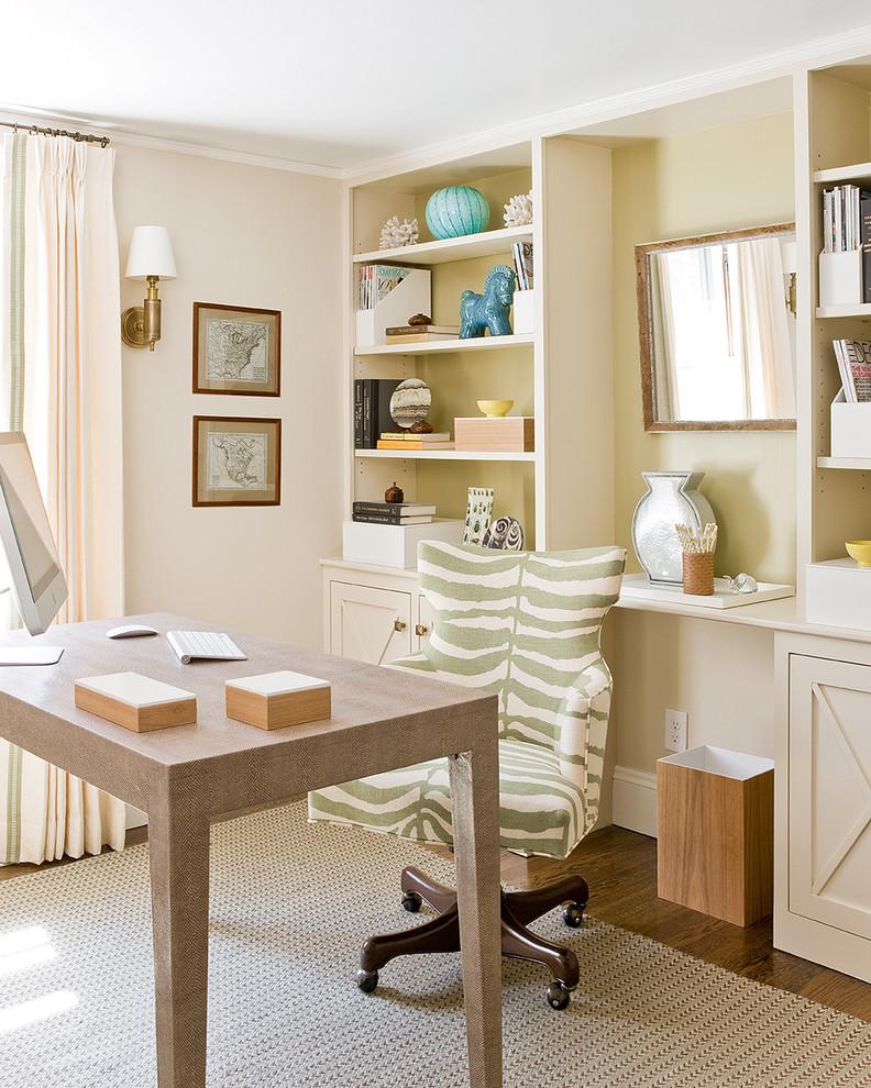 Artwork Victorian Home Office Design