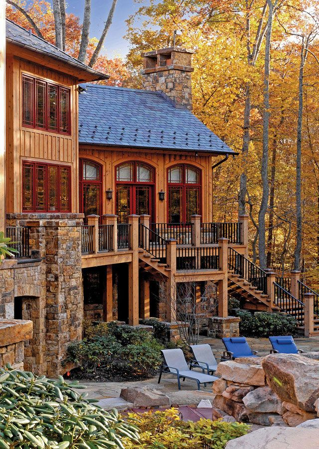 Beautiful Rustic Exterior Design