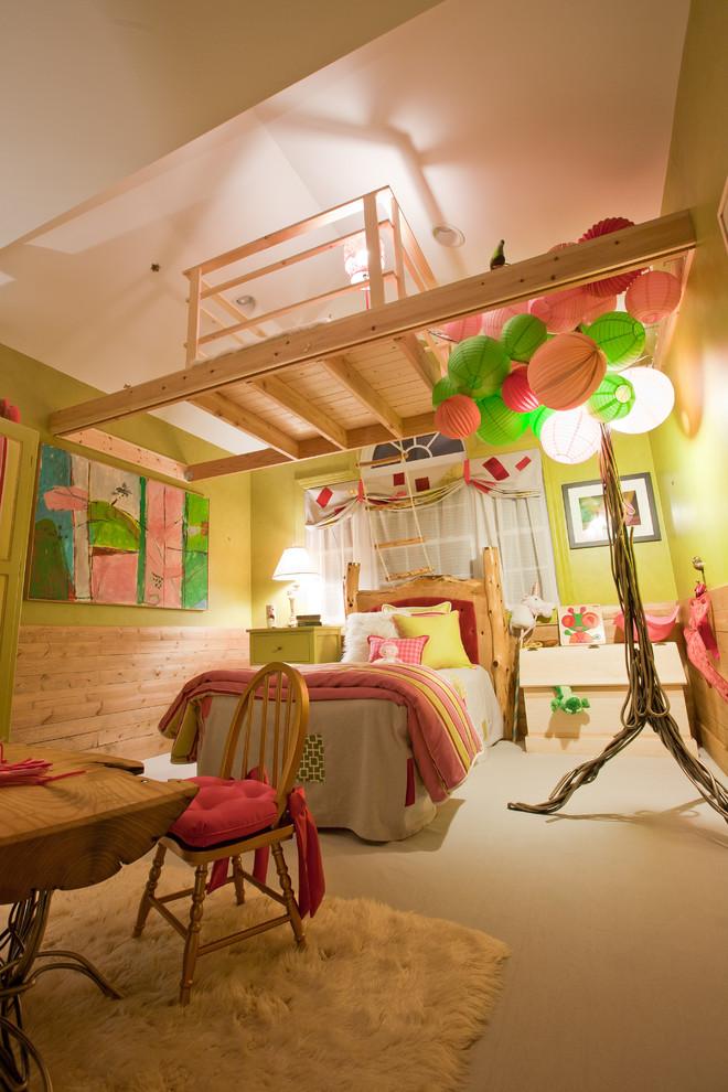 Beautiful Rustic Kids Room Design