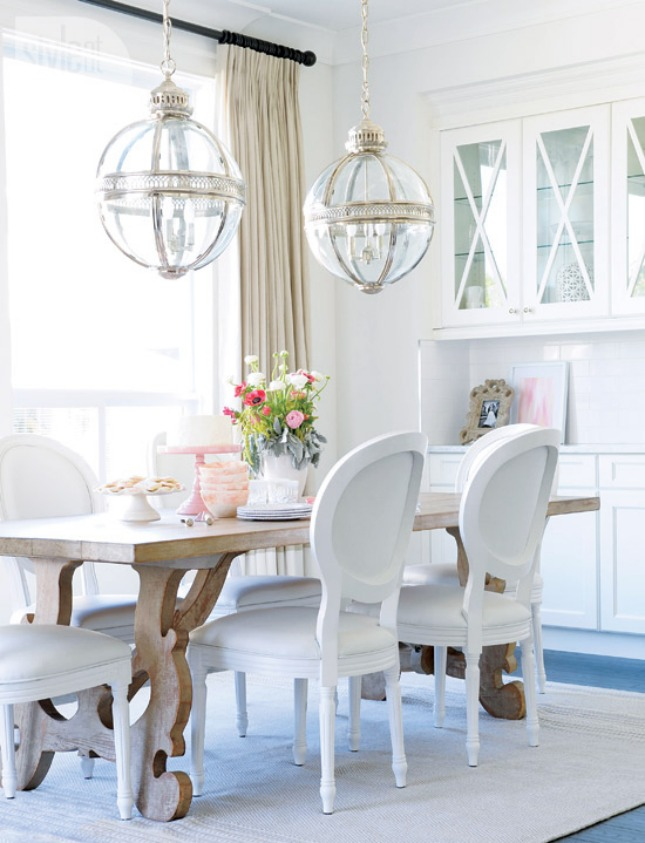 25 beach style dining room design ideas decoration love for Beachy dining room ideas