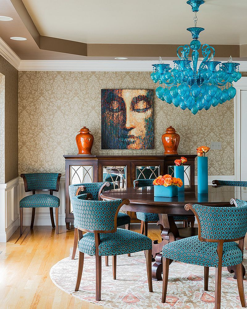 Brilliance Beach Style Dining Room Design
