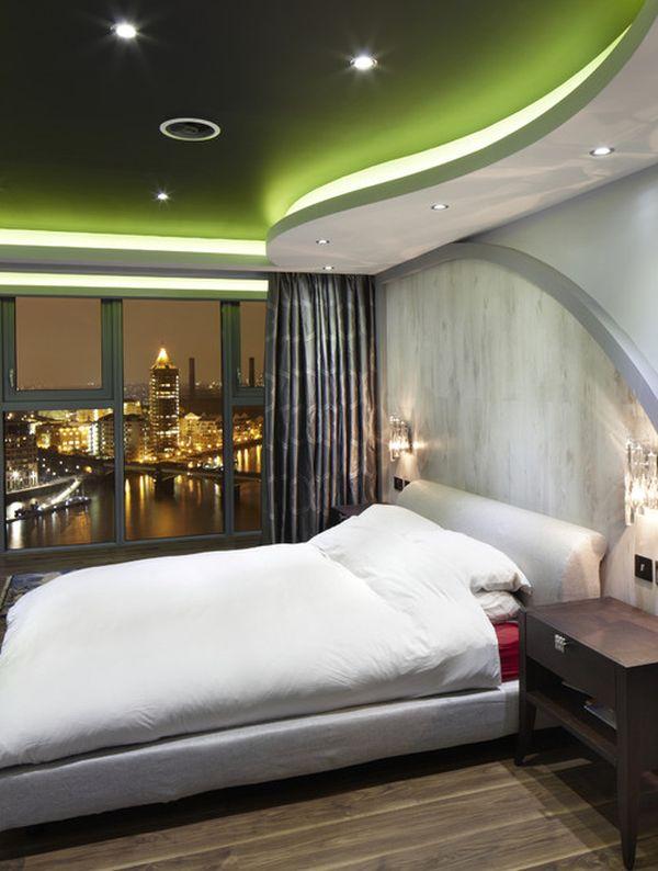Ceiling Contemporary Bedroom Design