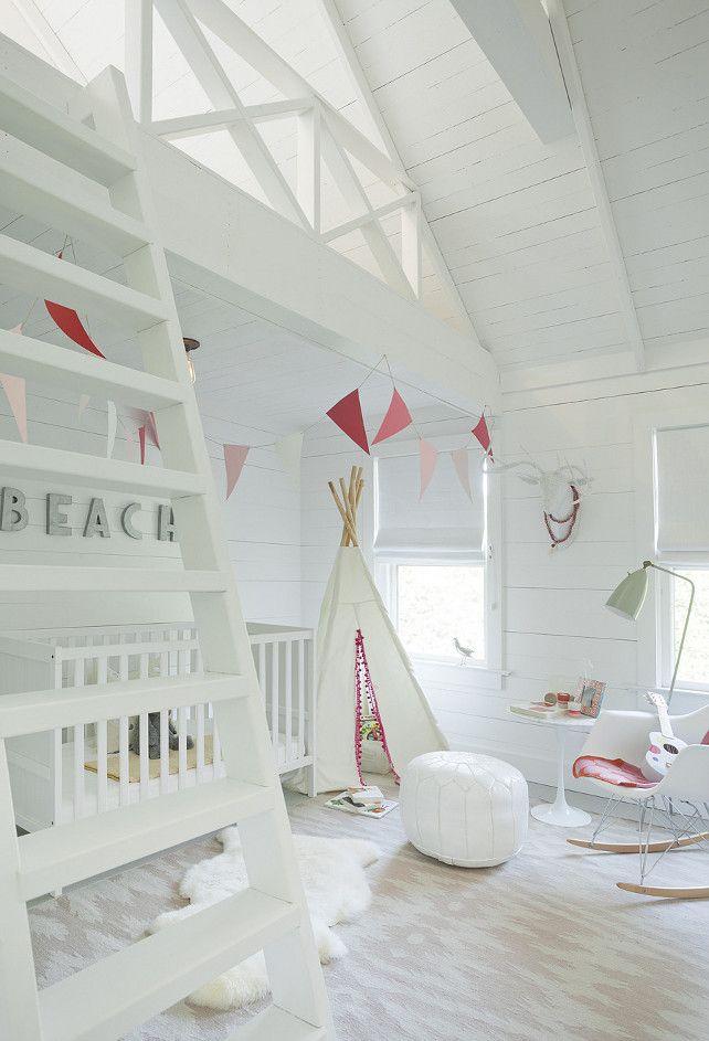 Coasta Beach Style Kids Room Design