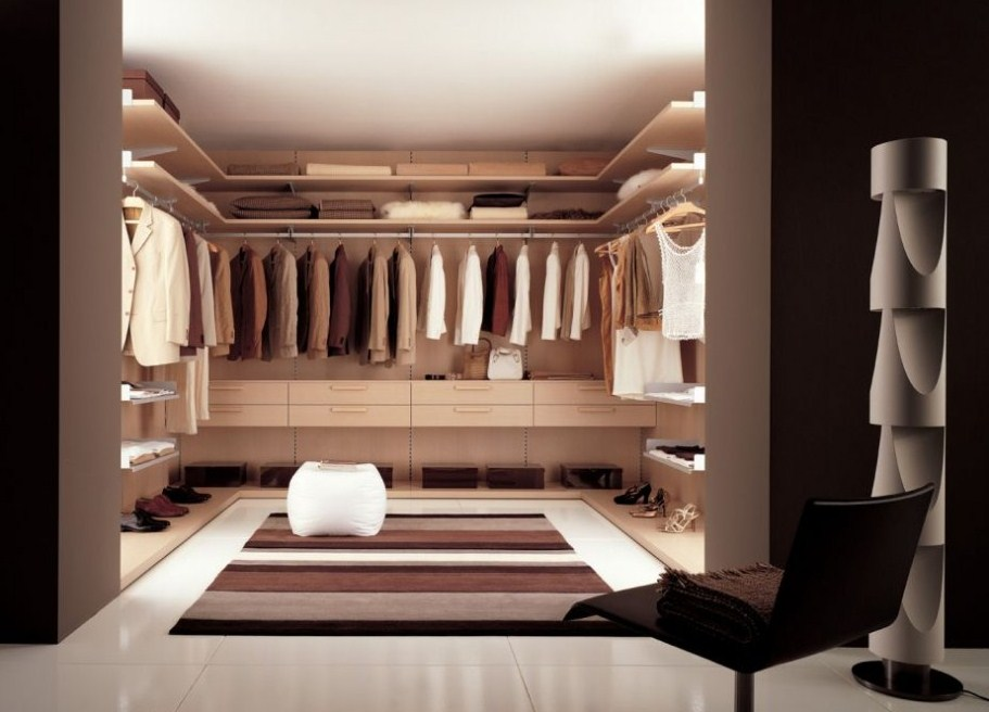 Contemporary Master Closet Design Ideas