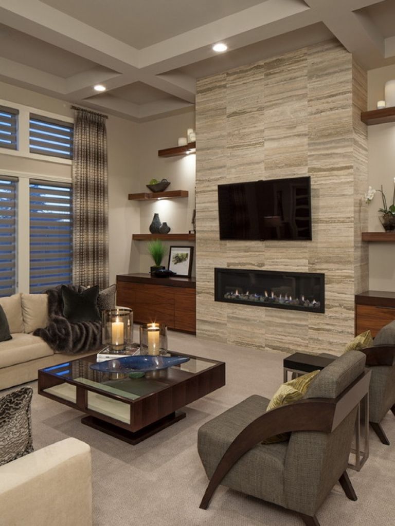 Cool Contemporary Living Room Design