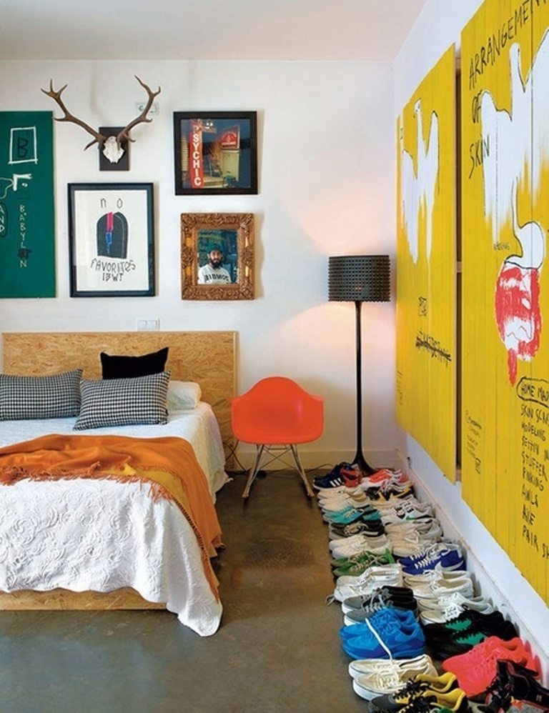 Cool Eclectic Bedroom Design