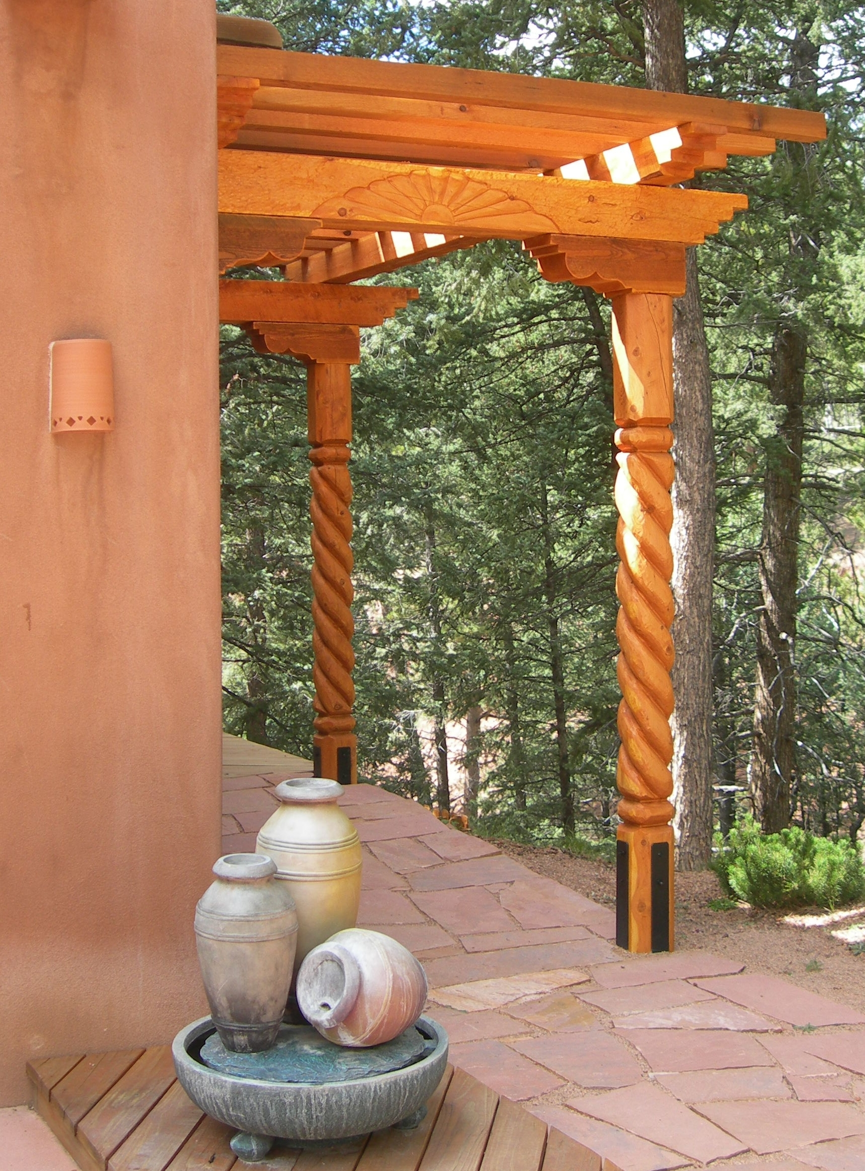 Cool Southwestern Outdoor Design