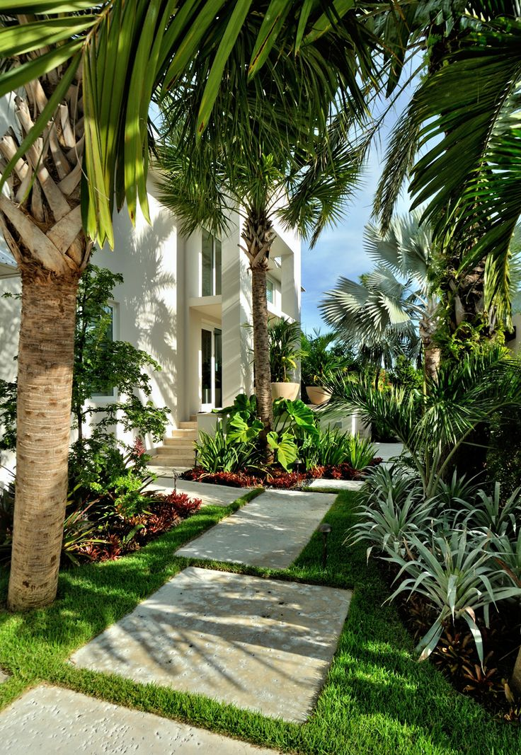 Cool Tropical Outdoor Design Ideas