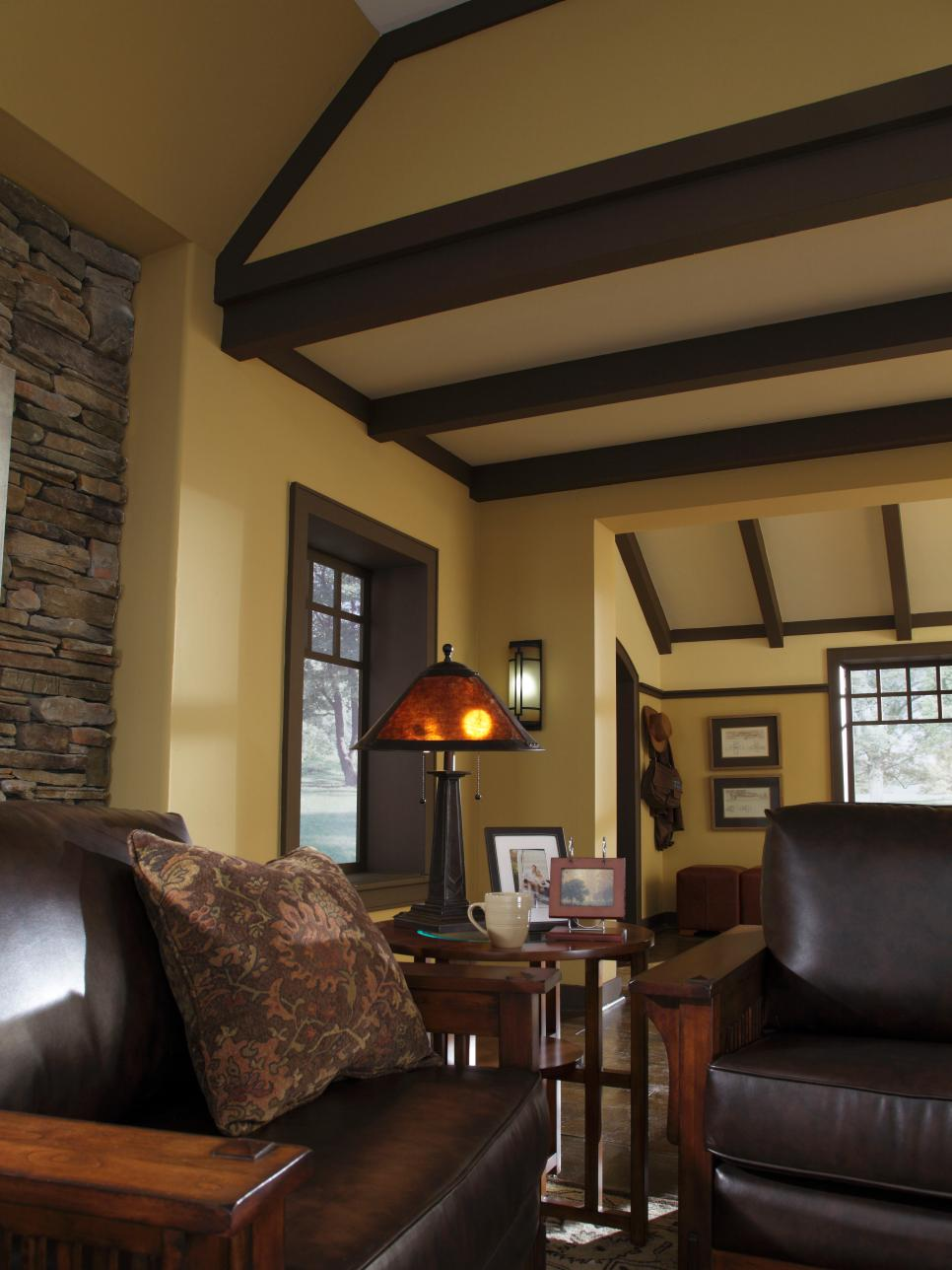 Craftsman Style Interior Design Living Room