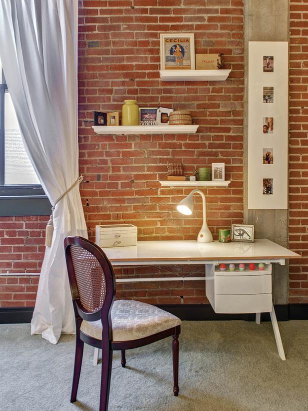 Creative Contemporary Home Office Design