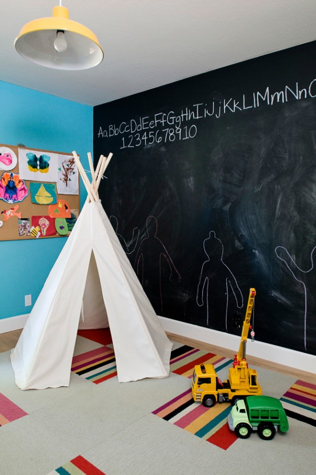 Creative Eclectic Kids Room Designs