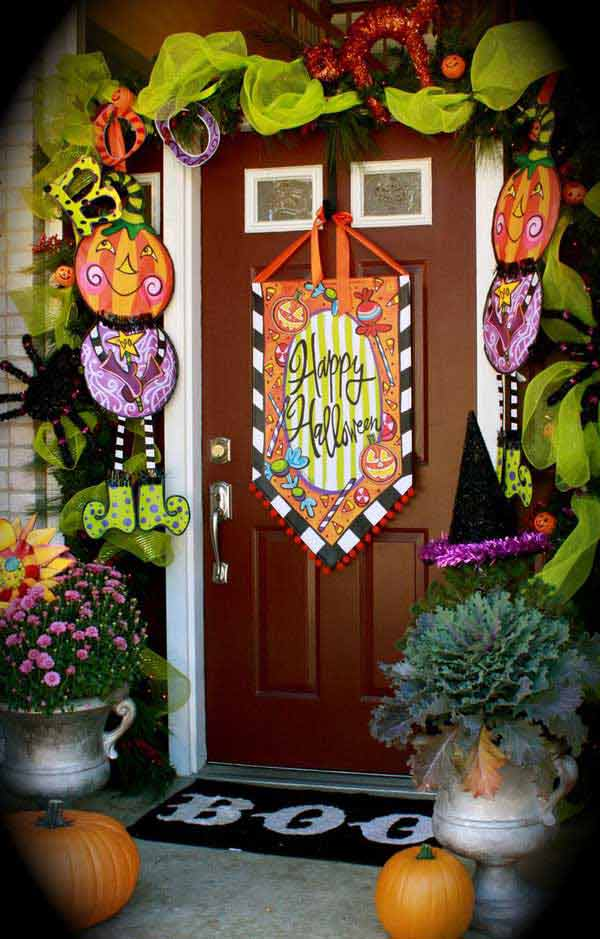 25 Halloween Porch Decorations Ideas - Decoration Love