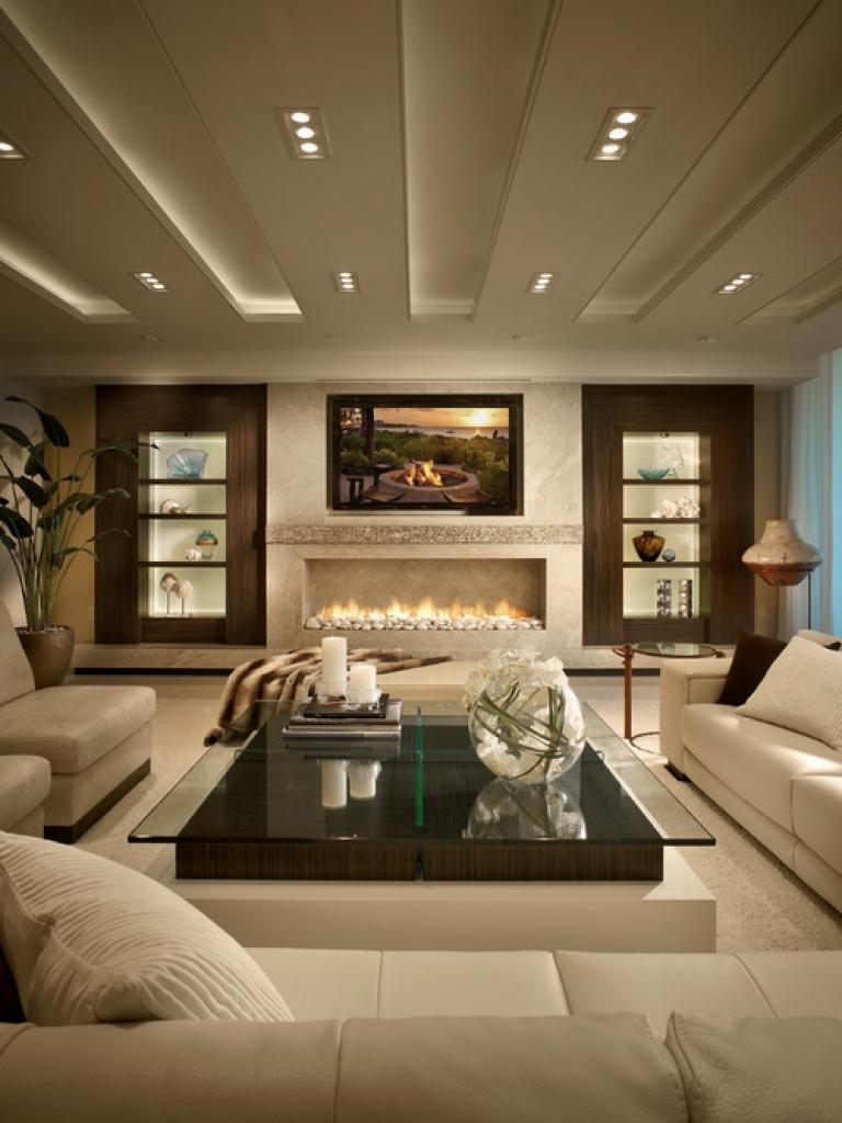 Designer Contemporary Living Room Design
