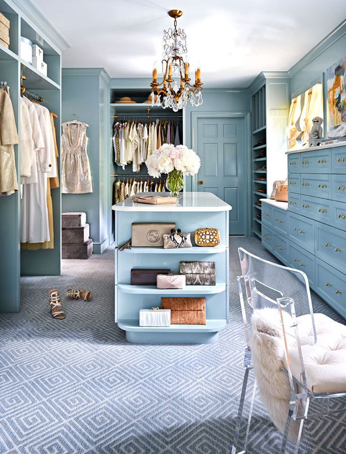 Dream Eclectic Closet Design