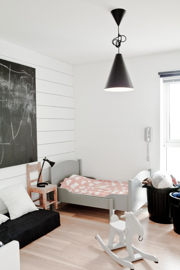 Dreamy Scandinavian Kids Room Design