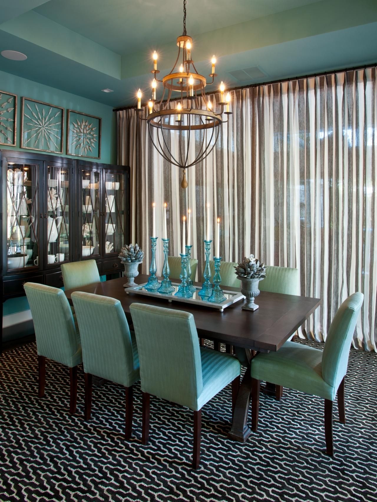 Eclectic Dining Room Designs Ideas