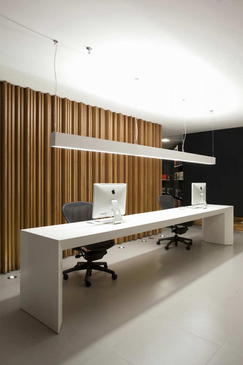 Elegant Contemporary Home Office Design