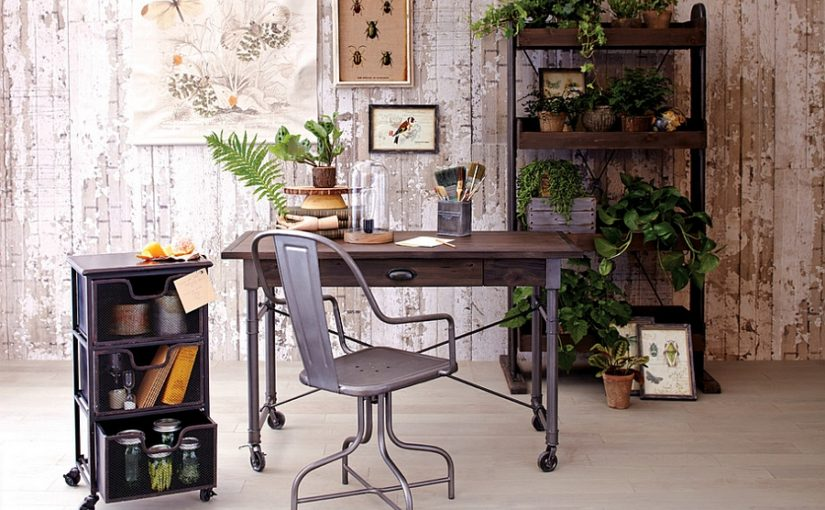 25 Industrial Home Office Design Ideas