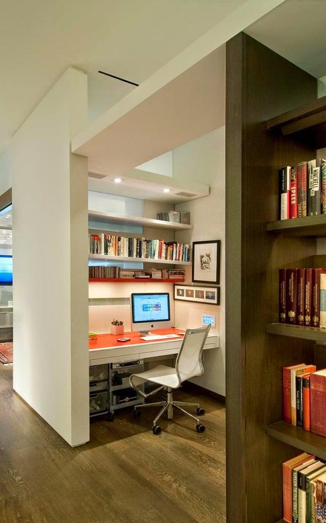 Elegant modern home office designs