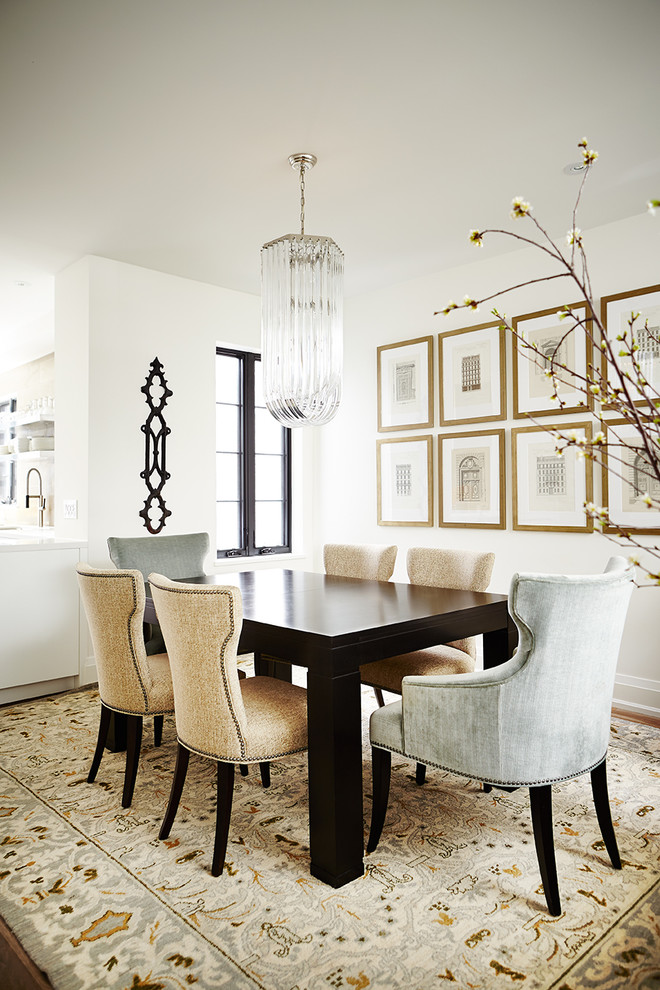 Great Transitional Dining Room Design