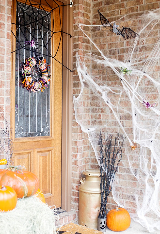 Halloween Front Porch Decoration 2016