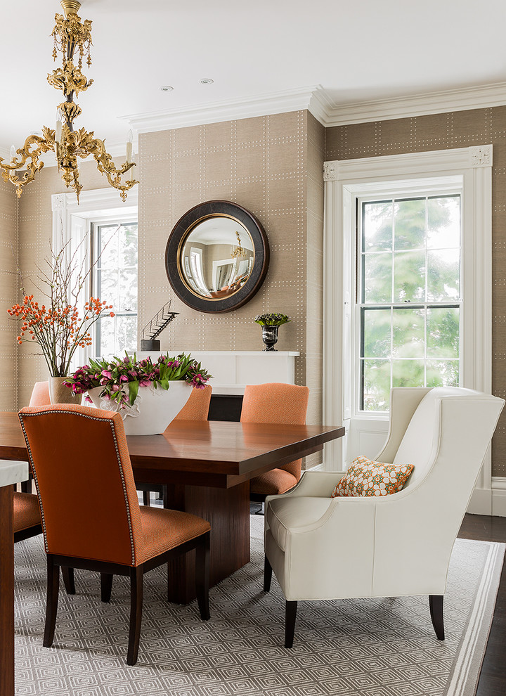 Impressive Transitional Dining Room Design