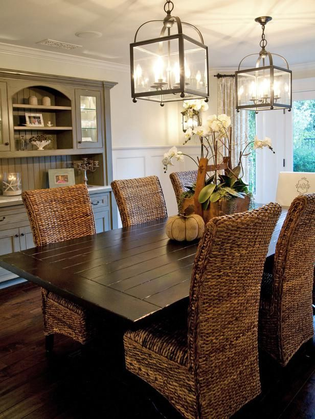 Inspired Beach Style Dining Room Design