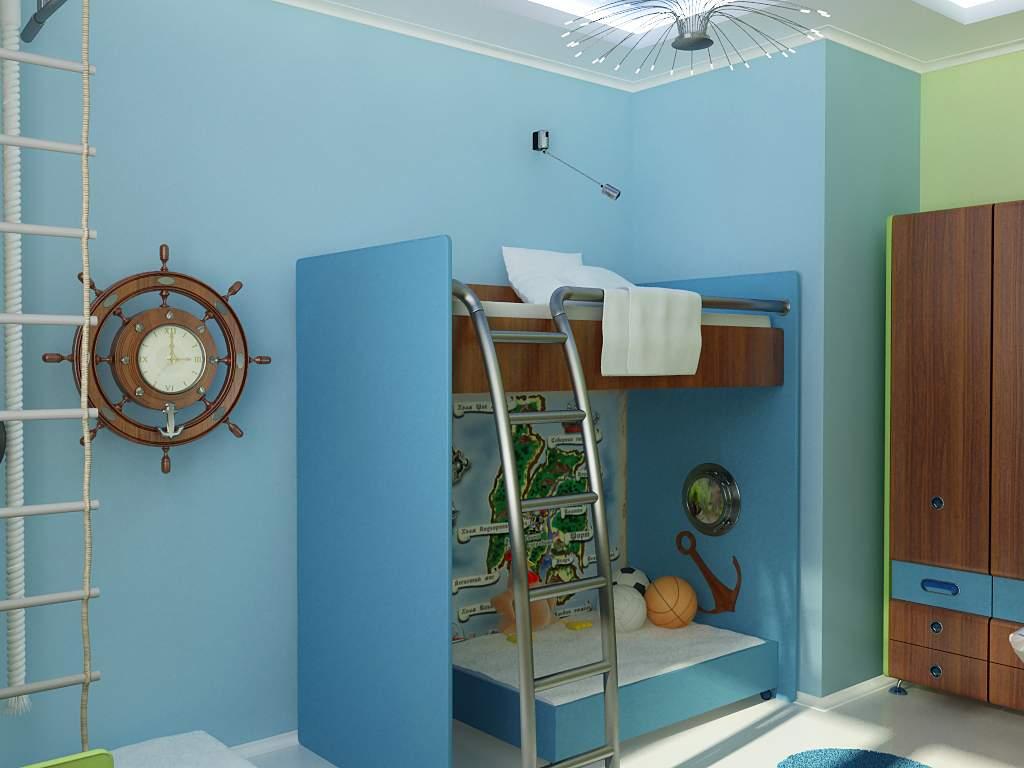 Inspired Beach Style Kids Room Design Ideas