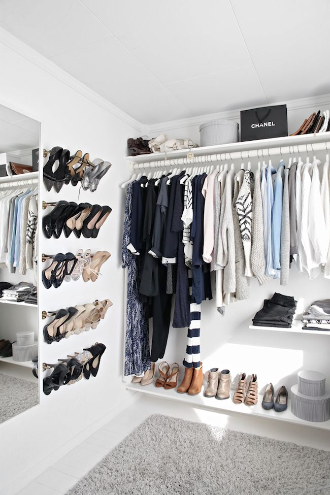 Inspired Scandinavian Closet Design