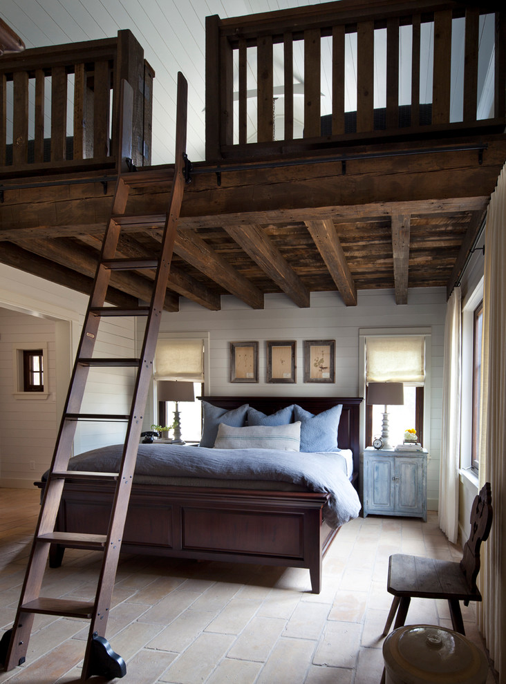 25 farmhouse bedroom design ideas decoration love for Small loft decor