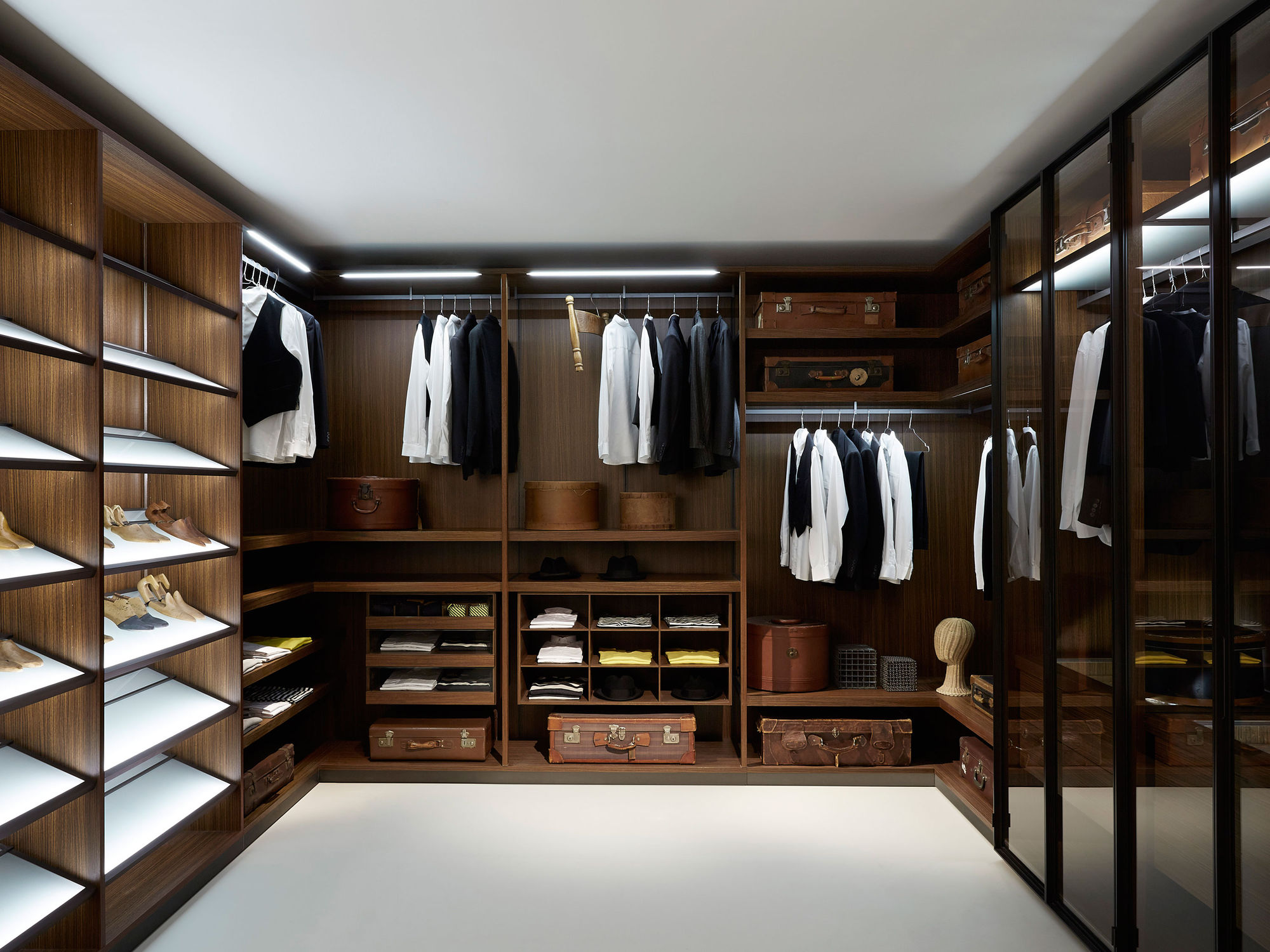 Luxurious Traditional Closet Design