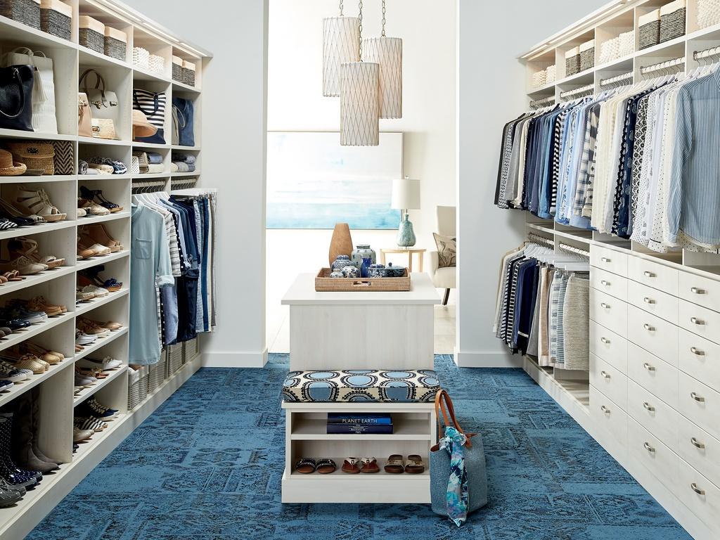 Luxury Beach Style Closet Design